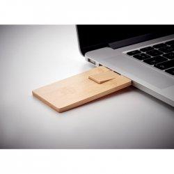 16GB USB: bambusowa obudowa pamięć