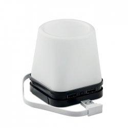Hub USB-pojemnik na długopisy