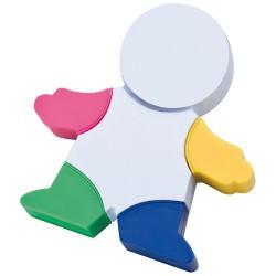 Zakreślacz - ludzik - 4 kolory