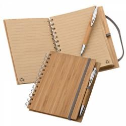 Notatnik A5 z bambusową...