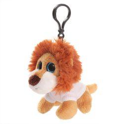 Pluszowy lew, zawieszka | Jory