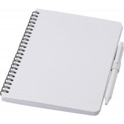 Antybakteryjny notatnik ok. A5 z długopisem