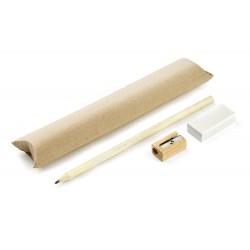 Komplet EKO (ołówek, gumka,...