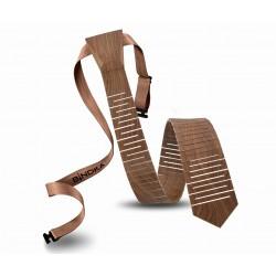 Drewniany krawat KORZEŃ Slim
