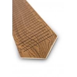 Drewniany krawat KORZEŃ