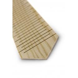 Drewniany krawat JESION