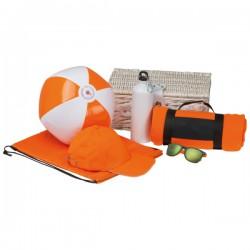 Zestaw plażowy EGMOND pomarańczowy
