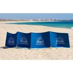 Parawan plażowy z logo z...